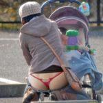 近所にいそうな人妻嫁が油断して下着がみえてる画像でシコシコしましょう[15枚]