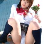 エッチな美少女が制服でエロポーズで誘ってる画像の頂点を決めようジャマイカ[42枚]