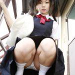 可愛い女の子が制服姿でエロいポーズしてる画像まとめ[42枚]