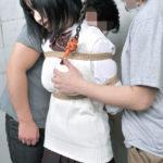 エッチなJKコス美女が制服姿で緊縛されてSM調教されてる画像の素晴らしさを実感するスレ[22枚]