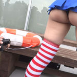 メンヘラっぽい女の子が艦これ・島風コスでエロい尻してる画像って、なんでこんなエロいんだ?[46枚]