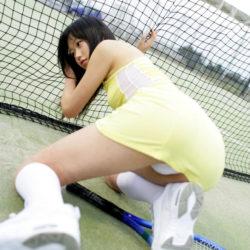 結構可愛い女がテニスウェアで誘ってくる画像をお楽しみ下さい[24枚]