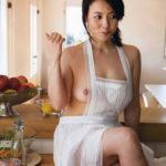 色気のある女の子が裸エプロン姿で誘惑してくる画像をじっくり楽しむスレ[35枚]