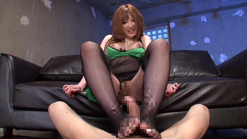 網タイツ女の子が言葉攻め&足コキしてくれる画像がセクシー過ぎて抜ける[9枚]